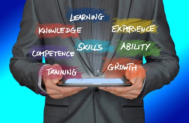 Learning knowledge experience competence skills ability training growth